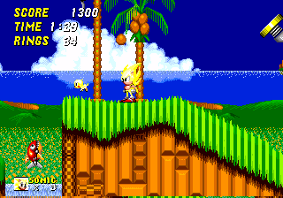 Sonic2 MD SuperSonicFlicky.png