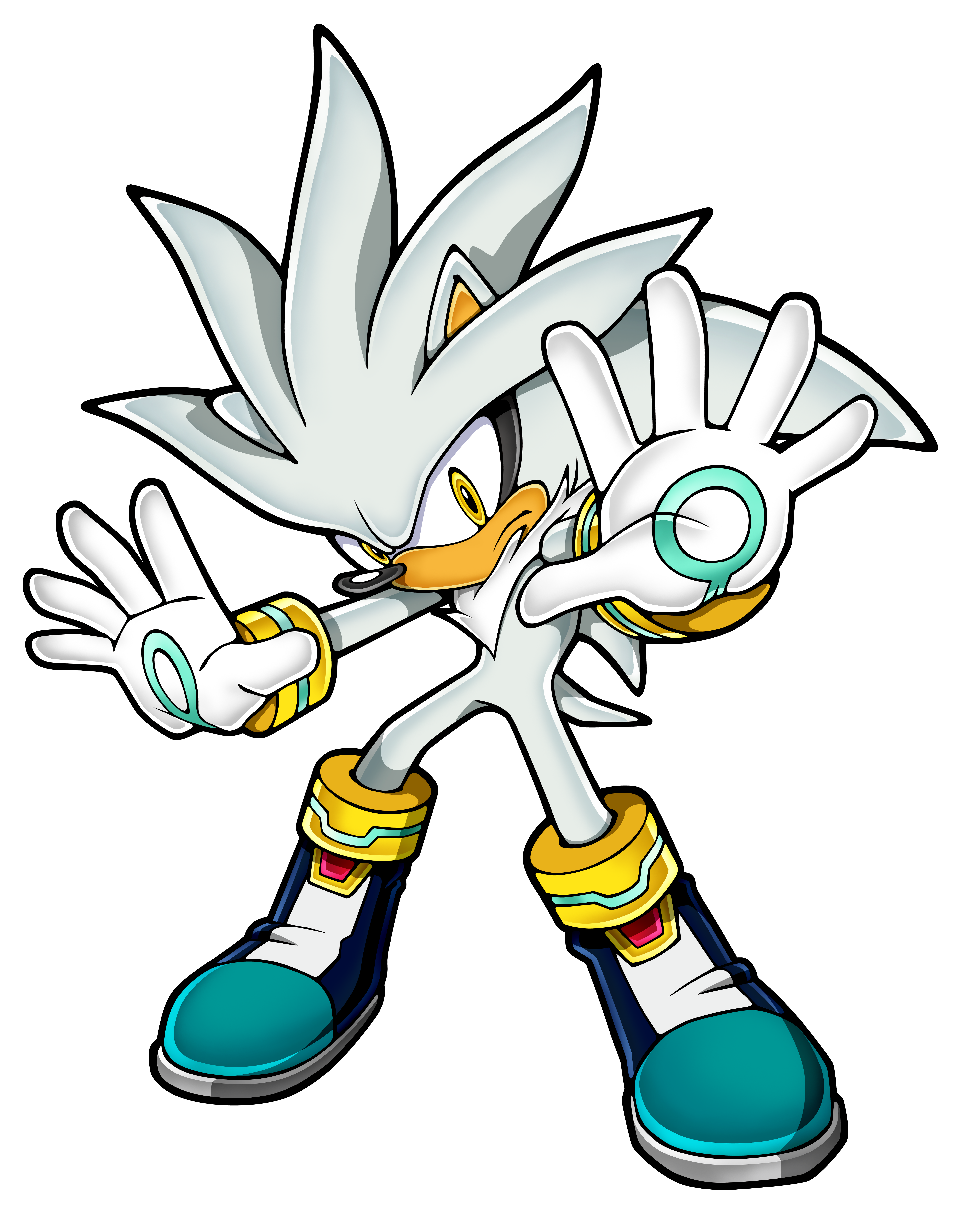 "Silver the Hedgehog -- ""And I dream of an absolution..."" Sonicchannel_silver"