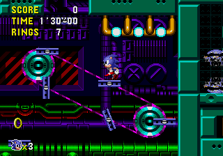 Sonic CD [PC version] Mmpresent