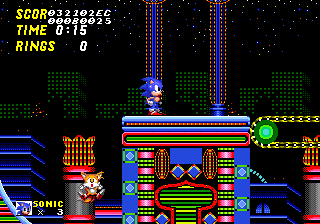 S2beta Prototype Zones Casino Night Sonic Retro