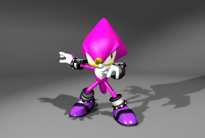 File:Heroes Render Espio.jpg - Sonic Retro
