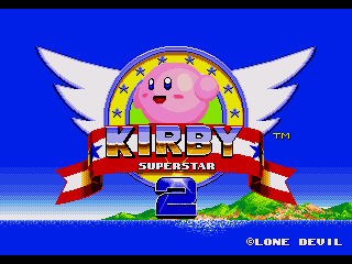 Kirby in Sonic the Hedgehog 2 Title.png