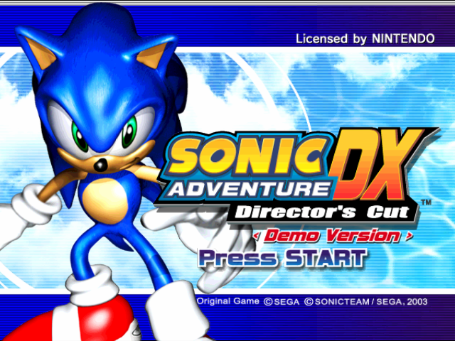 File:SADX GCN demo titlescreen.png