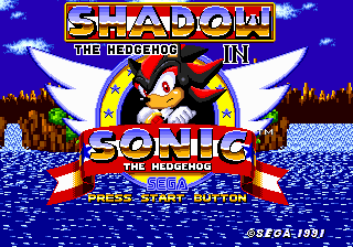 Shadow The Hedgehog In Sonic The Hedgehog Sonic Retro