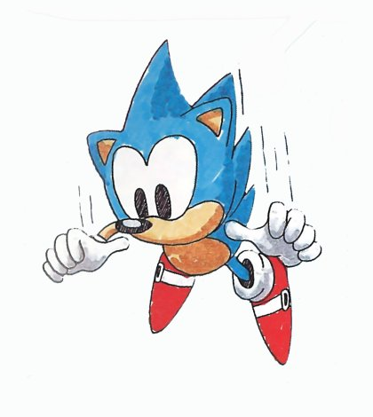 File:Sonic1 MD Art Sonic Fall.jpg