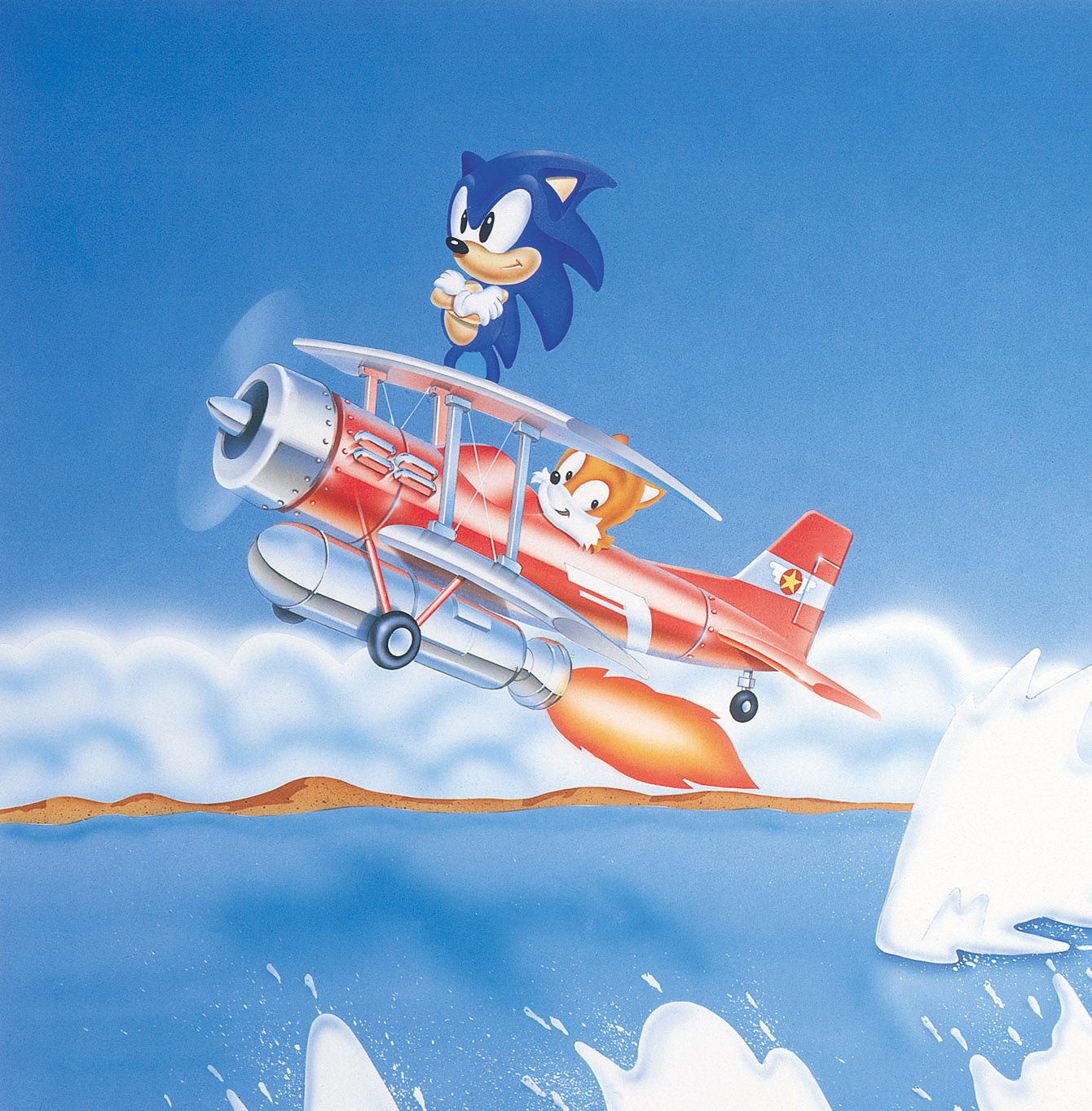 File S2 Sonic Tails Tornado Art Jpg Sonic Retro
