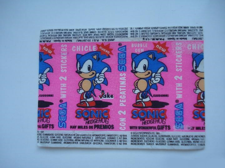 File:ChicleSonictheHedgehog ES Bubble Gum Wrapper (1991).jpg
