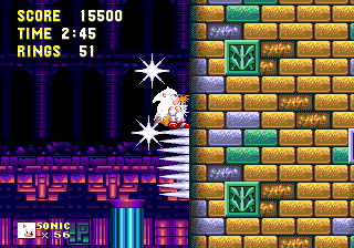 Sonic3K MD HCZ HyperSonicKnuckles 1.png