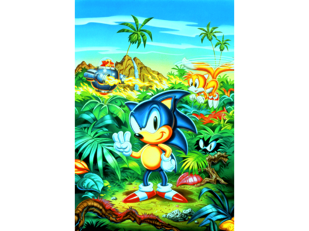 Where I Can Find This Sonic The Hedgehog 3 Box Art Without Text In Better Quality Sonicthehedgehog