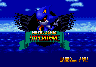 Metal Sonic Hyperdrive - Sonic Retro