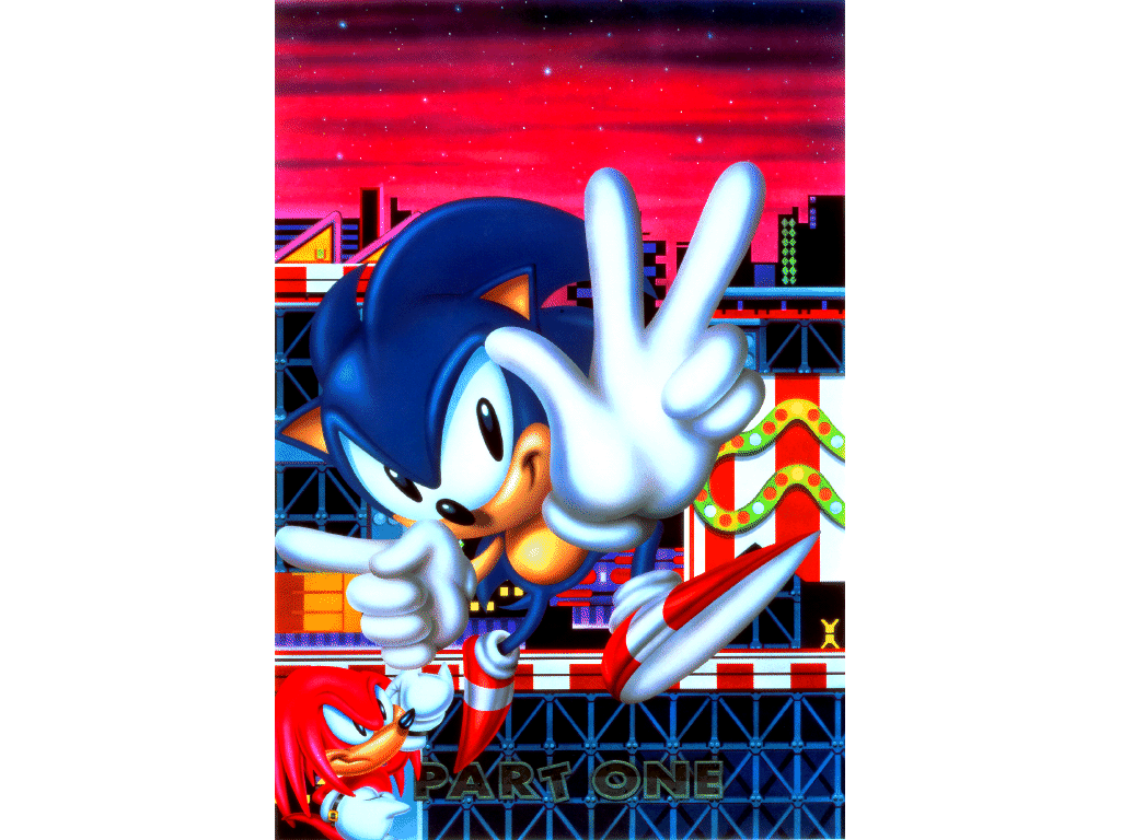 why is sonic 3 knuckles so awesome green hill zone ssmb. Black Bedroom Furniture Sets. Home Design Ideas