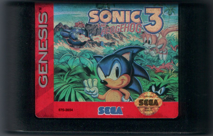 Wtb Sonic 3 Us Sega Genesis Ended