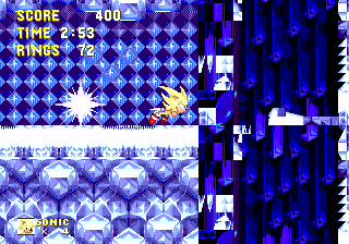 Sonic3 MD IceCapAct1Tunnel.png