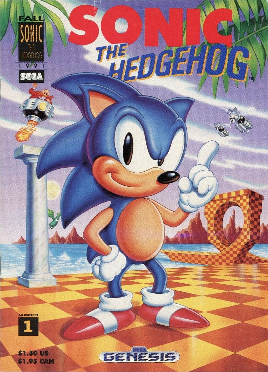 Comix Secret Hq Sonic The Hedgehog Promotional Comic