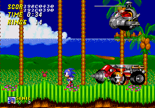 An example of the error with Tails' tails.