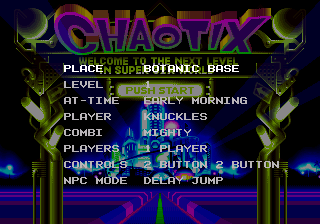 Chaotix1207 32X Comparison LevelSelect.png