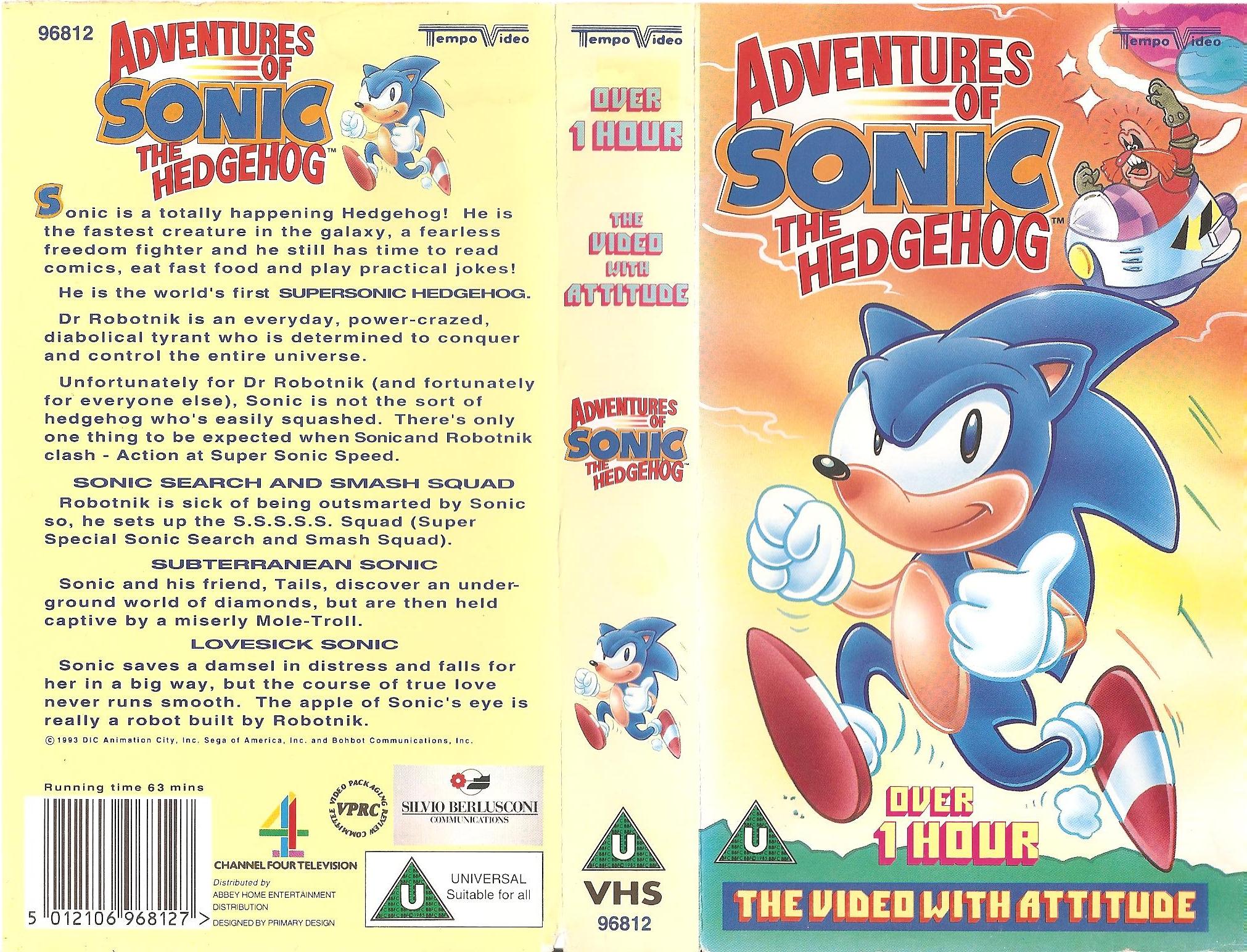 File Aosth Uk Vhs Vol 1 Jpg Sonic Retro