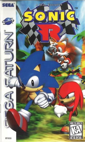 File:Sonic R Sega Saturn US Manual.pdf - Sonic Retro