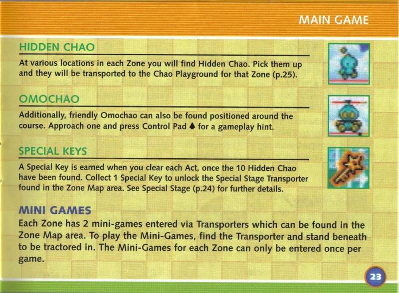 File:SonicAdvance3 GBA US manual.pdf - Sonic Retro