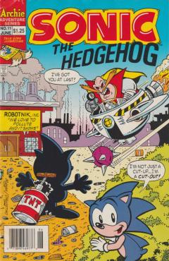 Sonic The Hedgehog 011 Archie Sonic Retro