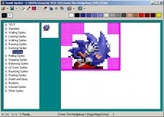 Sonik Sprite - Sonic Retro