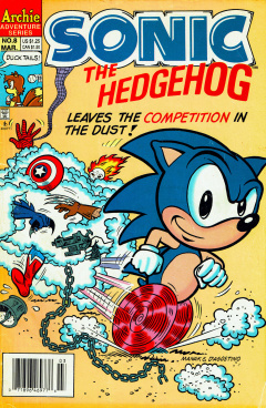 Sonic The Hedgehog 008 Archie Sonic Retro