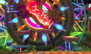 Homing Attack in Sonic Colors.