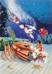 File S2 Sonic Tails Underwater Art Jpg Sonic Retro
