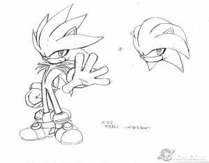Sonic riders zero gravity coloring pages ~ Silver the Hedgehog - Sonic Retro