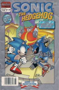 Metal Sonic - Sonic Retro