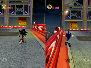 Sonic Vs Shadow (2P) - Sonic Retro
