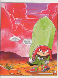 Knuckles the Echidna - Sonic Retro
