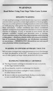 File:SonicSpinball MD US manual.pdf - Sonic Retro