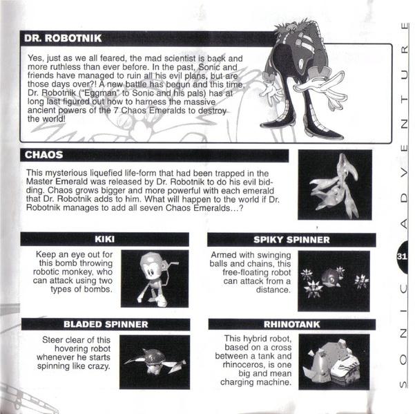File:SonicAdventure DC US manual.pdf - Sonic Retro