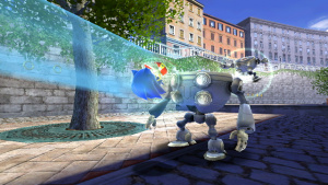 Homing Attack in Sonic Unleashed.