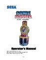 Sonic Spinner arcade game manual chuckecheeses.pdf