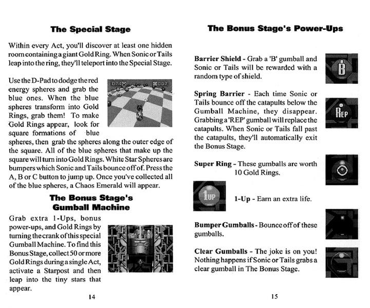 File:Sonic3 MD US SonicJam manual.pdf - Sonic Retro
