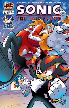 Sonic The Hedgehog 171 Archie Sonic Retro