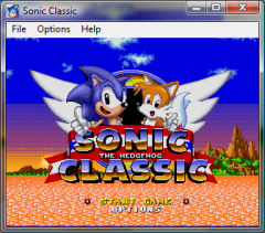 Sonic the Hedgehog Classic - Sonic Retro