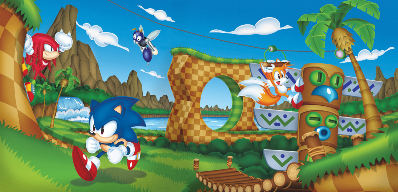 File:Sonic Mania Green Hill Vinyl Artwork.png
