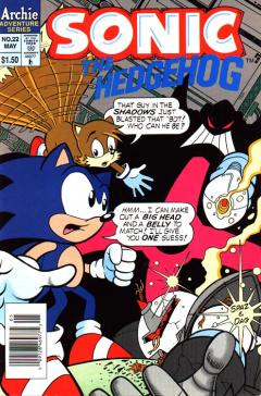 Sonic The Hedgehog 022 Archie Sonic Retro