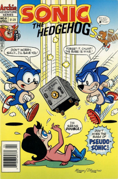 Sonic The Hedgehog 009 Archie Sonic Retro