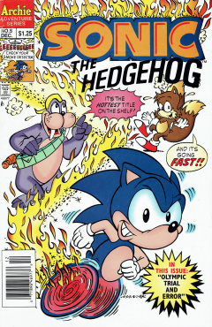 Sonic The Hedgehog 005 Archie Sonic Retro