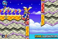 Sonic Advance 3/Bugs - Sonic Retro