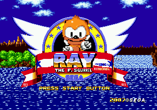Ray in Sonic 1 v4 Title.png