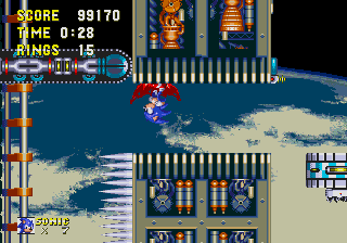 Category Levels With A Death Egg Theme Sonic Retro