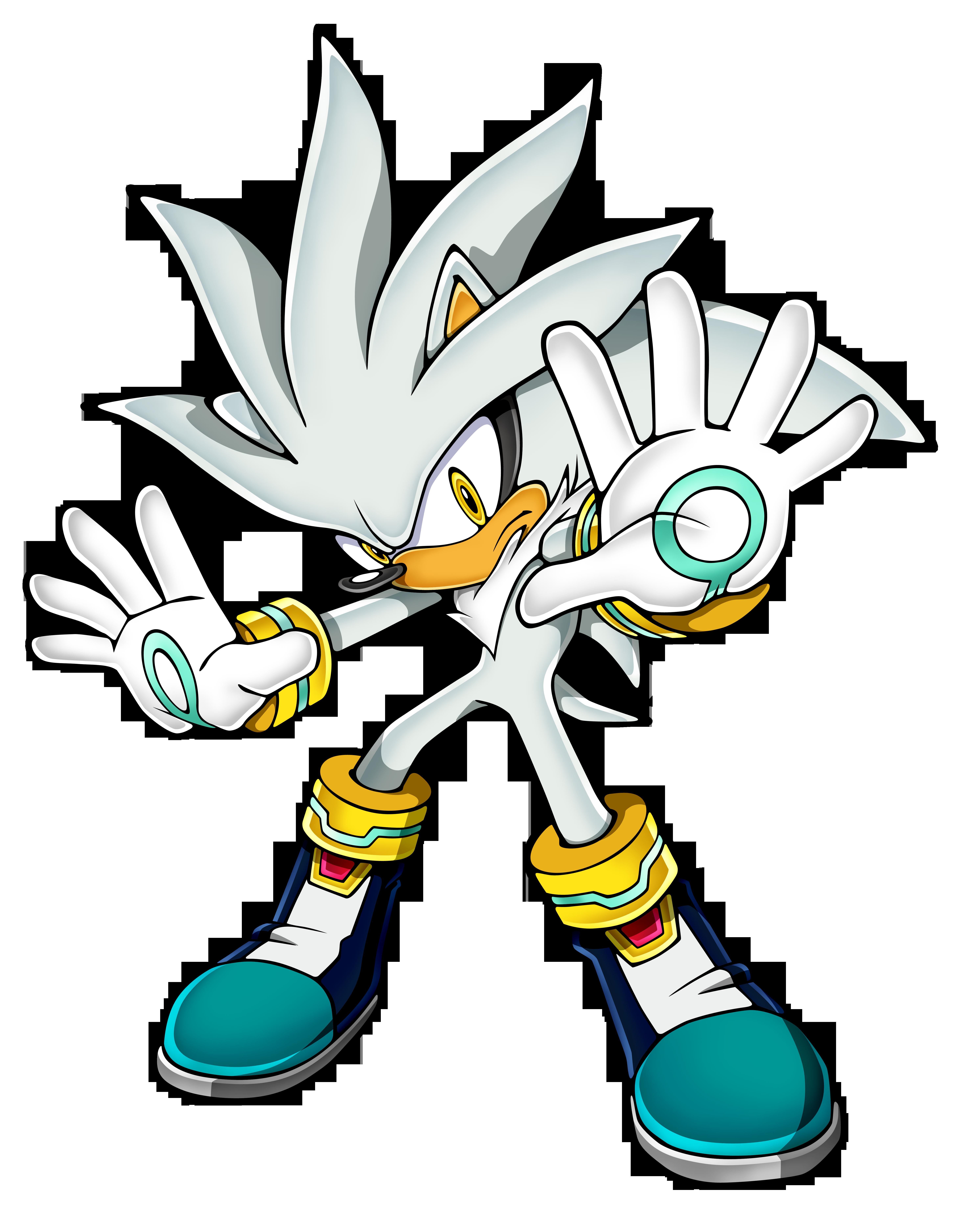 File Sonicchannel Silver Png Sonic Retro