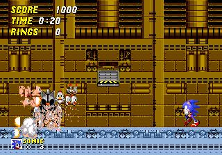 Sonic The Hedgehog 2 Beta 4 Comparisons Death Egg Zone Sonic Retro