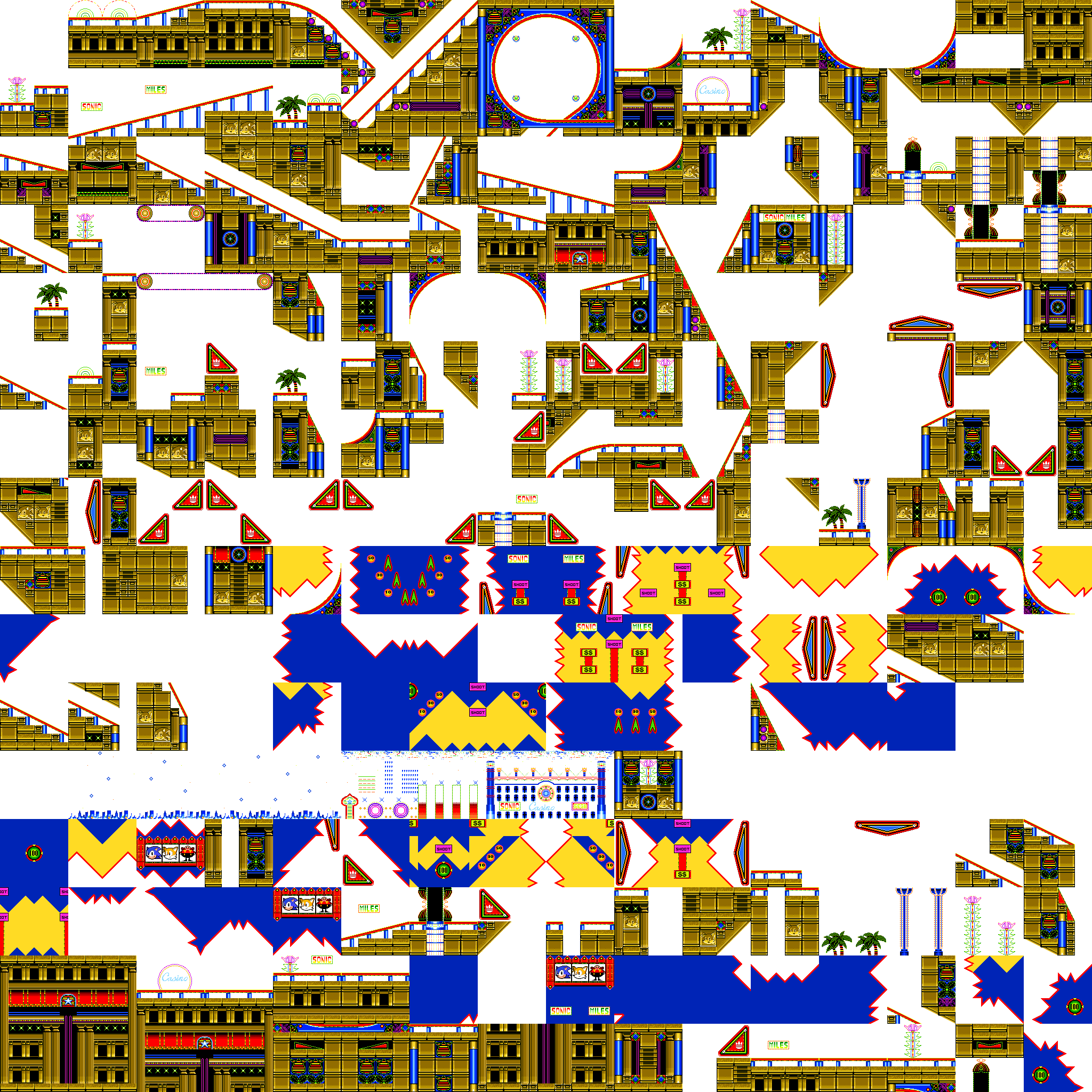 Sonic2 MD Map CNZ chunks.png