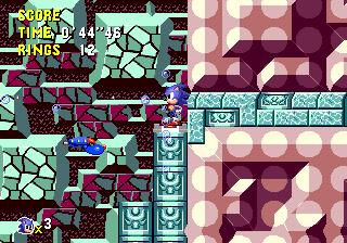 SonicCD510 MCD Comparison TT Act1PresentButtonLift.png